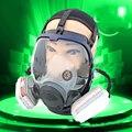 Máscara De Gas químico Cuerpo Principal Sin Cartuchos de Pintura Respirador para Polvo Máscara de Respiración Fumigar Pesticidas Máscaras Comparar MMM 6800