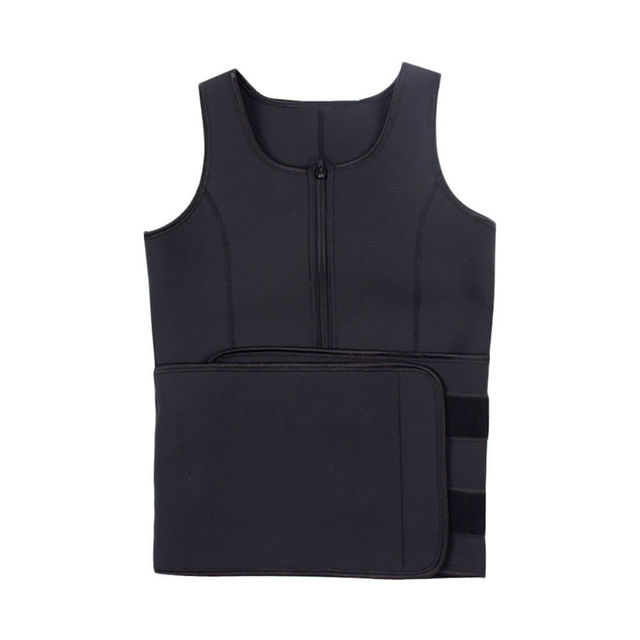 Sport Tank Tops Vest Neoprene Sauna Waist Trainer Vest Hot Shapers Shaperwear Slimming Adjustable Sweat Belt Body Waist Shapers 2