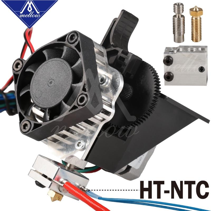 Free shipping 3D printer parts Titan Aero V6 hotend extruder full kit +Volcano nozzle kit for Desktop reprap mk8 i3 TEVO ANET