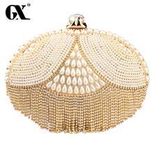 GX 2016 Abendtaschen & Kupplung Luxus-handtaschenfrauen-designer Hochzeit Handtaschen Funkelnden Geldbörse