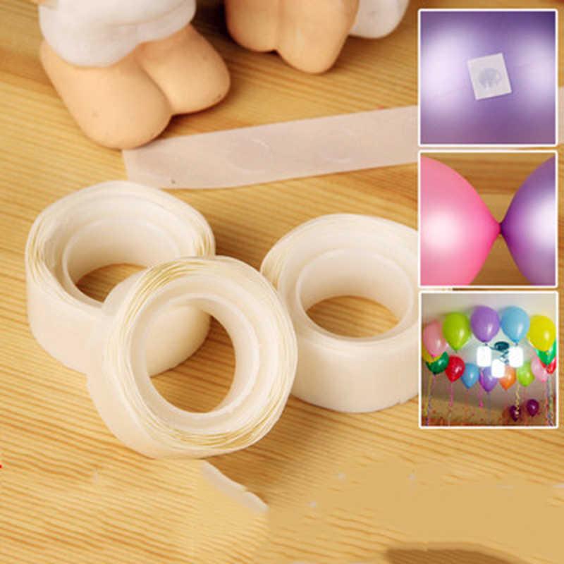 100Pcsลูกโป่งอุปกรณ์บอลลูนกาวงานแต่งงานวันเกิดตกแต่งบอลลูนสติกเกอร์อุปกรณ์เสริมถอดอุปกรณ์