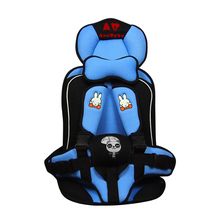 Portable baby safety seat Children's Chairs Car,Sponge Kids Car Seats cushion Car Styling car seat covers atuo accessories 2018 new arrival baby car seat baby safety car seat children s chairs in the car updated version thickening kids car seats
