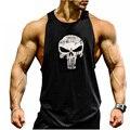 2017 New Arrivals Homens Regatas Musculação academias Da Marca Sem Mangas Casuais Camisas dos homens venda quente academias vest regata 2XL