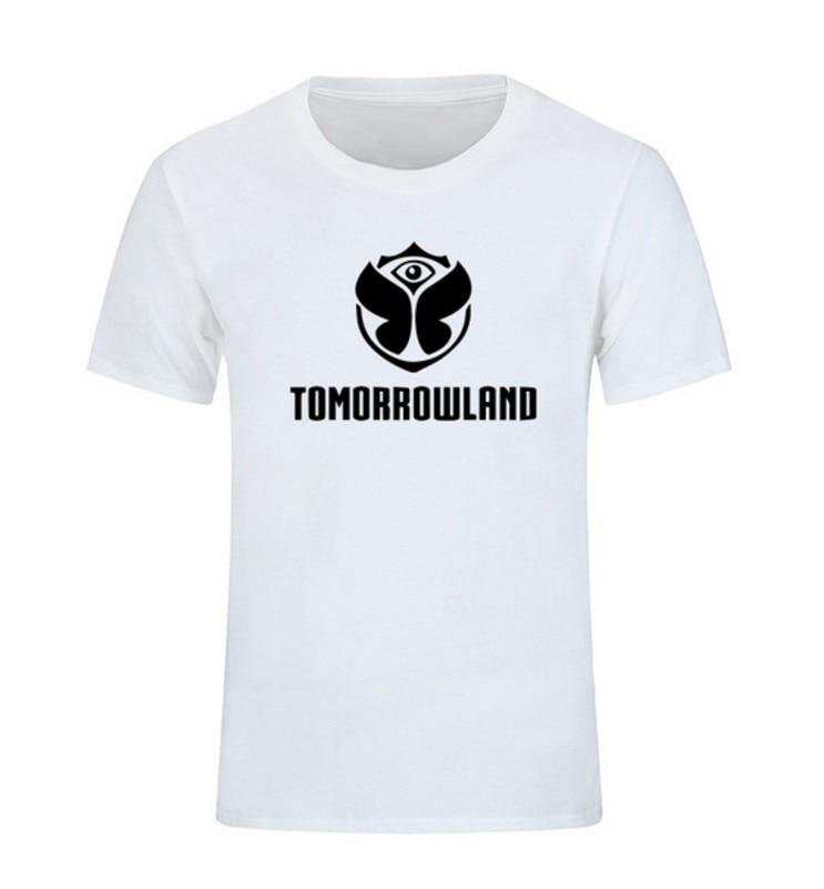 Electronic Music Tomorrowland Festival Rock Band World Fashion T-shirt Men Women Tops Classic Cotton Leisure T Shirts Clothing