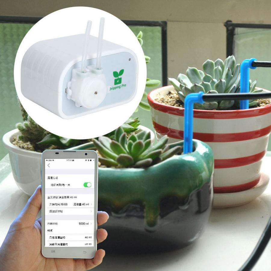 Home Mobile Phone Control Smart Garden Water Timers Bluetooth Wifi Automatic Irrigation Controller System100-240V(China)