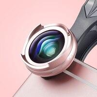 APEXEL Pro Optic smartphone camera lens kit 4k HD 0.6x wide angle+10x macro 2 in 1 lens for iPhone Xiaomi samsung no dark circle