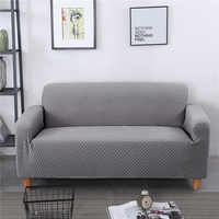 Embossed elastic one piece all inclusive sofa cover anti slip sofa cover protective case plaid Thicken Slipcover