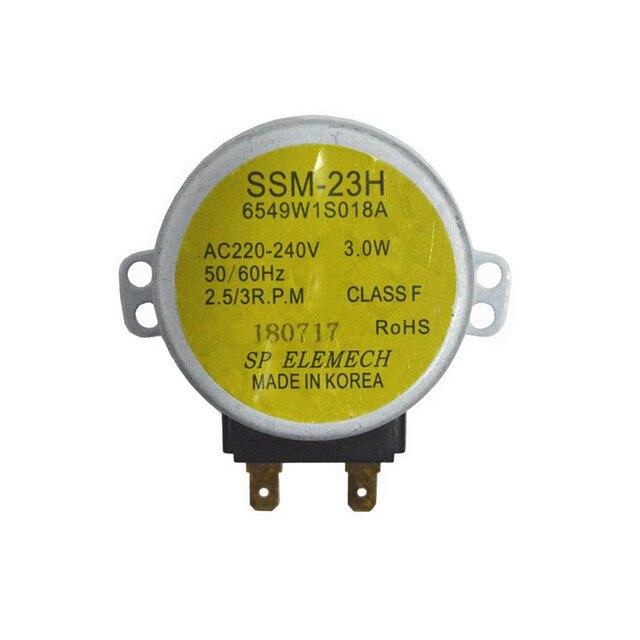 1 חתיכה מיקרוגל סינכרוני מנוע מגש מנוע SSM 23H 6549W1S018A עבור lg מיקרוגל תנור חלקי אבזרים