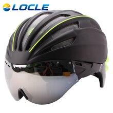 ЛОКЛЬ 280 г Очки Велоспорт Шлем Насекомых Чистая Велосипедный Шлем С Объективом Двойные Слои В пресс-форме Шлем Велосипеда 28 отверстия Каско Ciclismo(China (Mainland))