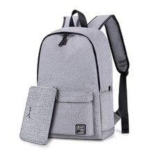 حقيبة المدرسة الرجال مقاوم للماء على ظهره كمبيوتر محمول 15 الرجال السفر في سن المراهقة على ظهره حقيبة الذكور على ظهره Mochila دفتر