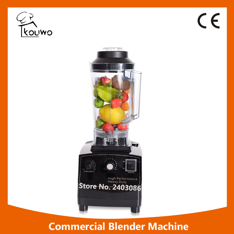 HP-193  2in1 Professional fruit bean Blender with High quality transparent plastic container glantop 2l smoothie blender fruit juice mixer juicer high performance pro commercial glthsg2029