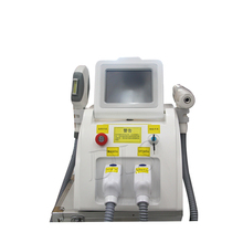 High Quality  IPL ND YAG Laser Multifunction Machine for hair removal and tattoo removal