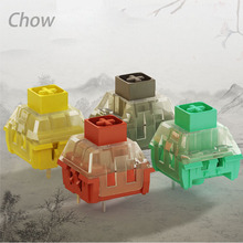 Kailh BOX Switch, Ancient Grey/Noble Yellow/Chinese Red/Glazed Green For Mechanical Gaming keyboard MX switch