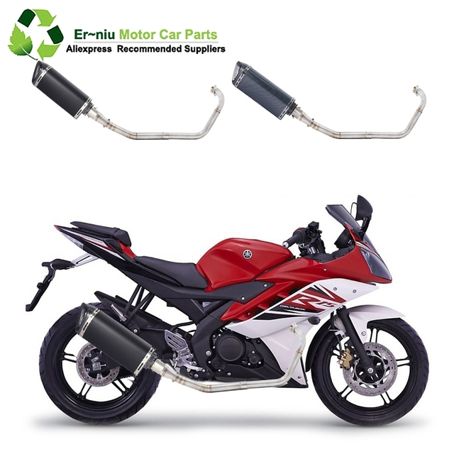 R15 Yzf R15 Mt15 Motorcycle Full System Exhaust Muffler Escape