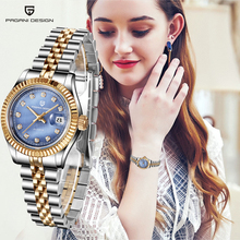 Reloj de diseño PAGANI para mujer, deportivo, de cuarzo, resistente al agua