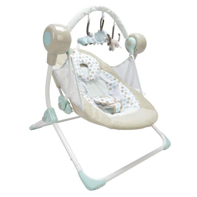 Automatische Schommel Baby.Elektrische Babyschommeling Stoel Muzikale Wipstoeltje Swing