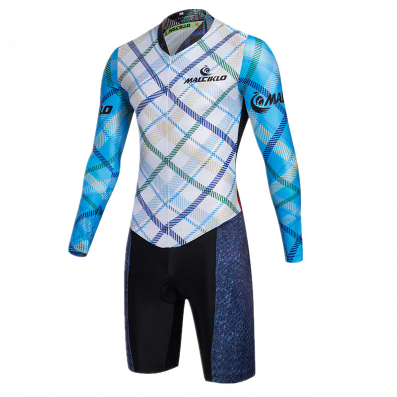 3f2934e398 Mountain bike Suits Triathlon Cycling Long Sleeve Jumpsuit Jersey Race  Clothing 2017 Salopette Ciclismo Cycling Clothes Men