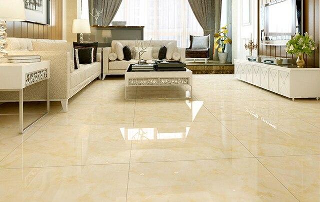 800x800mm Mengkilap Keramik Tiels Kroraina Glod Ubin Lantai Ruang Tamu R Tidur Interior