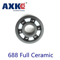 2017 Rodamientos Axk 688 Full Ceramic Bearing 1 Pc 8 16 4 Mm Si3n4 Material 688ce