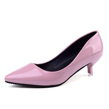 2019 new retro fashion high heels summer fine with wild shallow mouth trend of working hot sales casual Women's singles shoes the new pointed shallow mouth women s singles shoes with high heels in the wild with fashion casual shoes dfgd 15