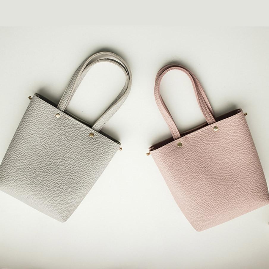 couro bolsa menina bolsas atravessadas Colors : Light Gray, Blue, Black, Pink