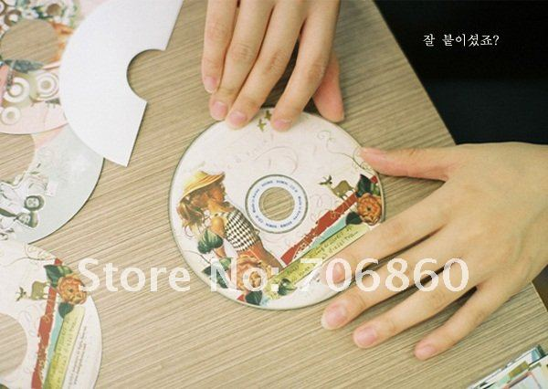 Aliexpress.com : Buy CD Label CD Sticker Italy Style CD Label Old ...