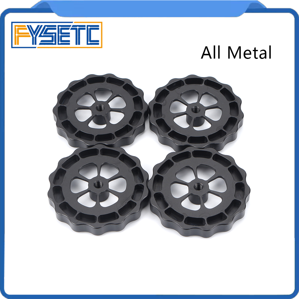 1pc <font><b>3D</b></font> Printer <font><b>Parts</b></font> Big Hand Twist Leveling Nut All Metal For <font><b>TEVO</b></font> <font><b>Tornado</b></font> <font><b>3D</b></font> Printer Ultimate Leveling Knob Leveler M5 thread image