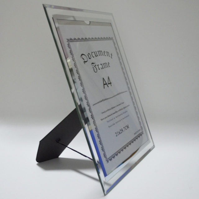 Online Shop Giftgarden A4 Glass Document Frames Tabletop Certificate