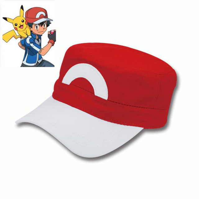 57c45f84b6e5b Military cap pokemon ash ketchum hat gorras planas snapback flat hats  baseball casquette bone caps bone casquettes de basketball