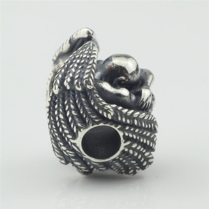 Image 2 - Male Angel 925 Silver Metal Beads Fit For European Charm Bracelet Jewelry Making DIY Jewelry Findings Handmade Bead Charms