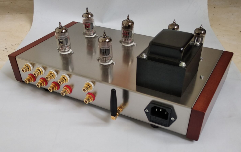 ZEROZONE Finished 12AX7 12AU7 6Z4 Vacuum Tube Stereo Preamp With Bluetooth Input L13 4