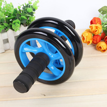 High Quality No Noise Abdominal Training Wheels Ab Roller Exercise Fitness Equipment Free Shipping