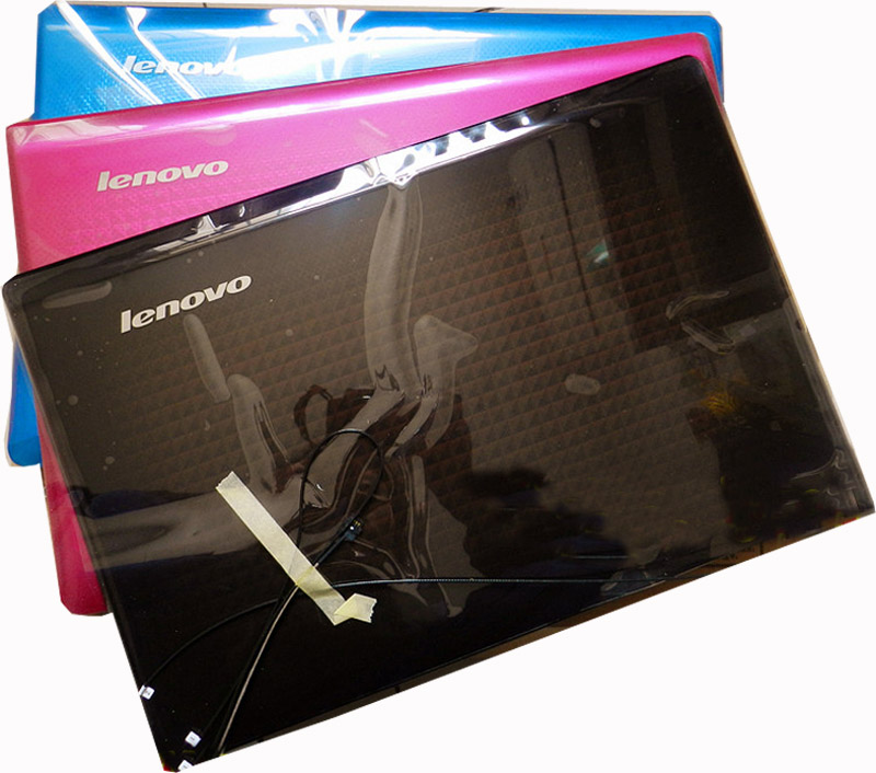 Nouveau Original pour Lenovo Z470 Z475 LCD coque arrière couverture arrière avec antenne 38KL6LCLV50 38KL6LCLV70 38KL6LCLV80 bleu rouge noir