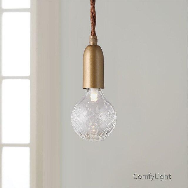 Minimalismus Glas Pendelleuchte Lampe Halter wohnkultur ...