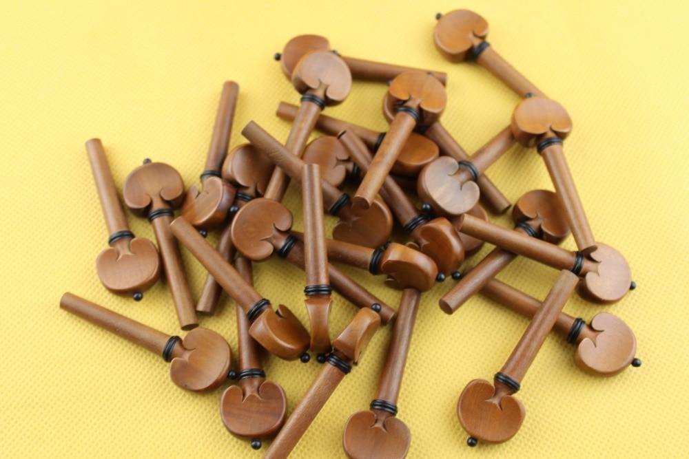5 set (20pcs) high quality 4/4 Violin Pegs Jujube wood Violin Tuning Pegs