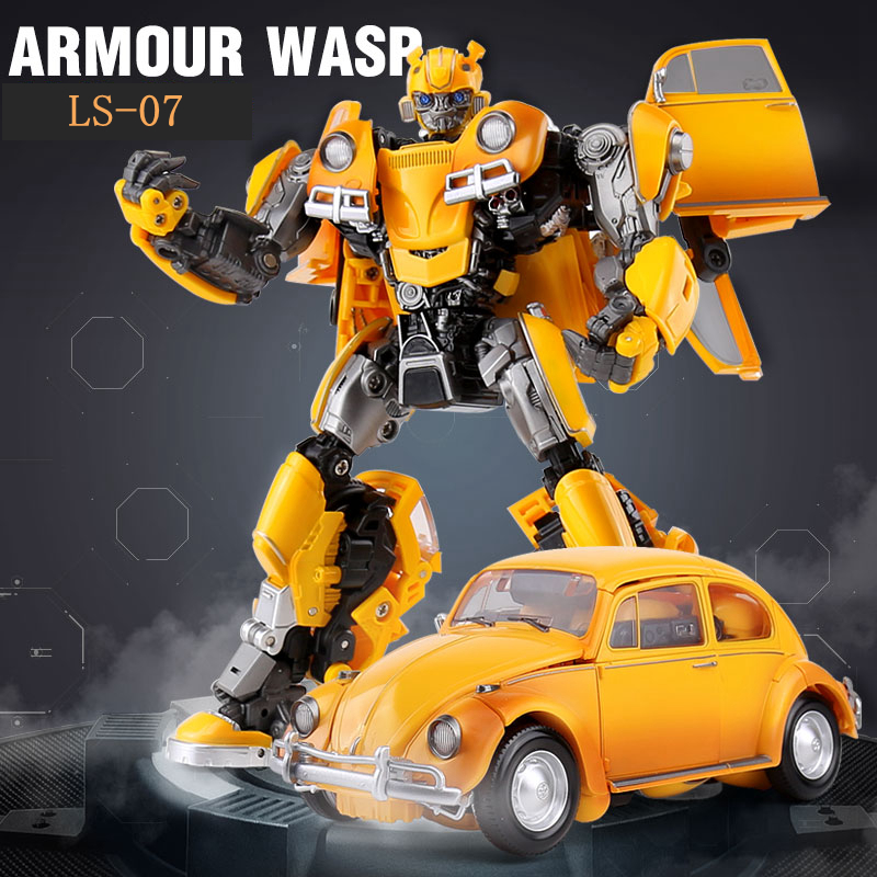 Image 3 - BMB Transformation LS 07 LS07 Bee MPM07 MPM 07 Alloy Metal Movie Film voyager Edition Action Figure Robot Toys Kids GiftsAction & Toy Figures   -