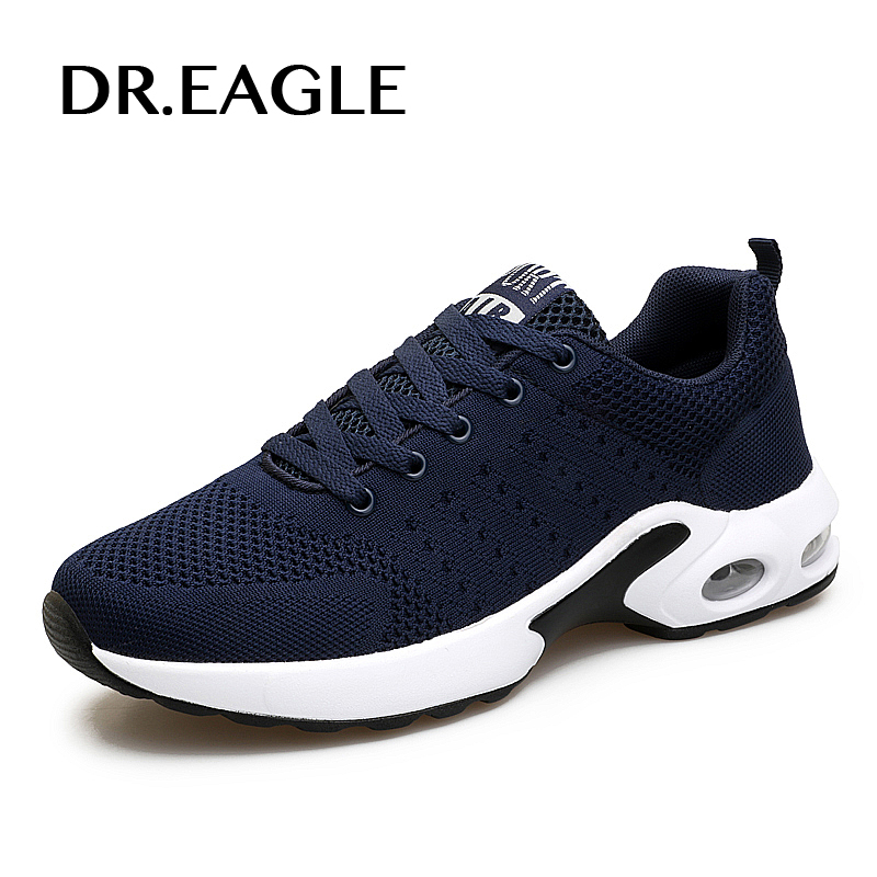 DR.EAGLE  men running shoes sports for men cushioning breathable shoes gym sport male sneakers mens krasovki high quality womens sports running shoes sneakers for women sport breathable trail running run shoes woman sneaker