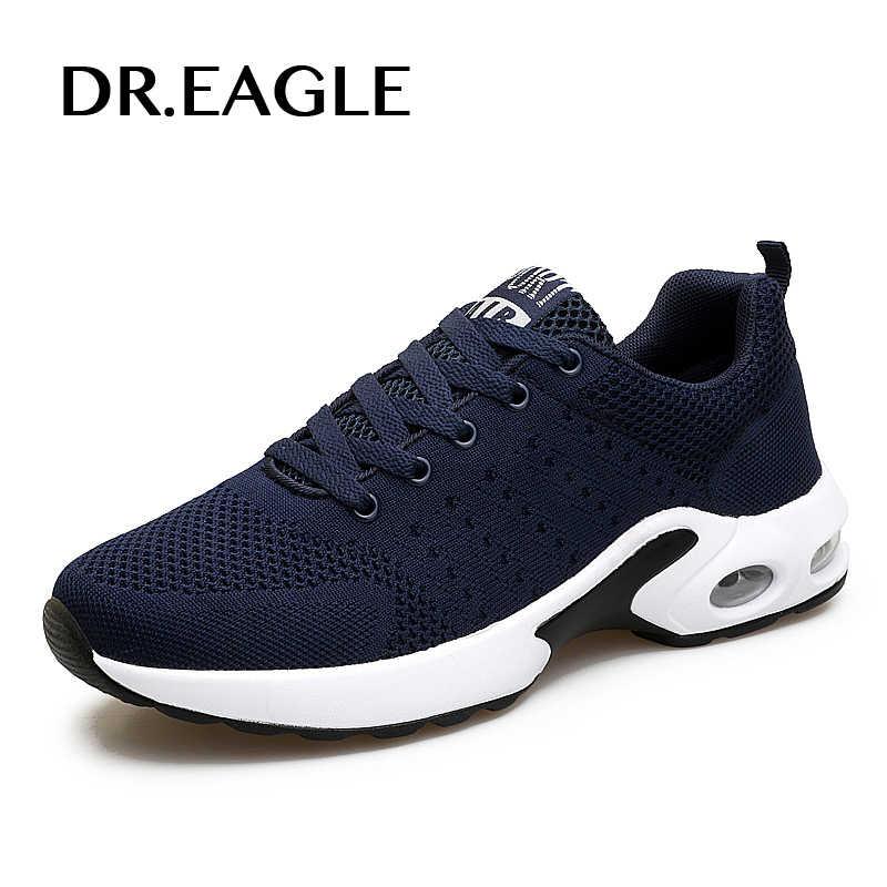 DR. נשר גברים נעלי ריצת נעלי ספורט לגברים לנשימה ריפוד כושר ספורט זכר סניקרס mens krasovki
