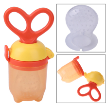 Baby Pacifier 1Pcs Fresh Food Milk Nibbler Feeder Kids Nipple Feeding Safe Baby Supplies Nipple Teat Pacifier Bottles