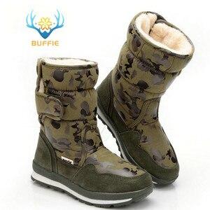 Image 2 - Ayakkabı erkekler kış sıcak botlar kamuflaj snowboot küçük boyutlu büyük ayak popüler yeni tasarım kürk astarı erkek stil ücretsiz kargo 41