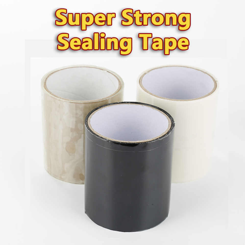 150x10cm Super Strong Fiber Waterproof Tape Stop Leaks Seal Repair Tape Performance Self Fix Tape Fiberfix Adhesive Tape
