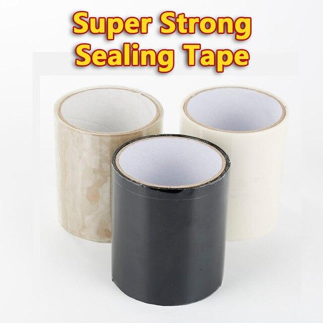 150x10cm súper fuerte fibra resistente al agua cinta de detención fugas sello reparación cinta de rendimiento auto Fix cinta adhesiva Fiberfix cinta
