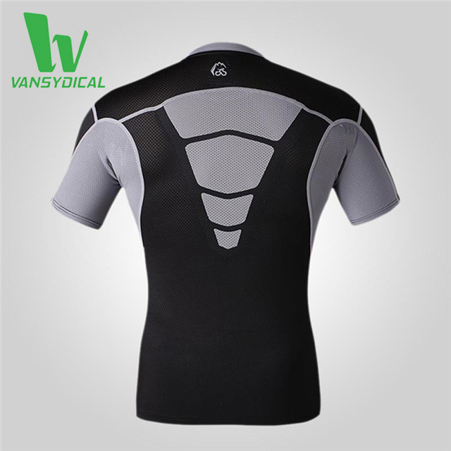 Compression Short Sleeve Base Layer Shirt Quick Dry Breathbale Spandex O-neck