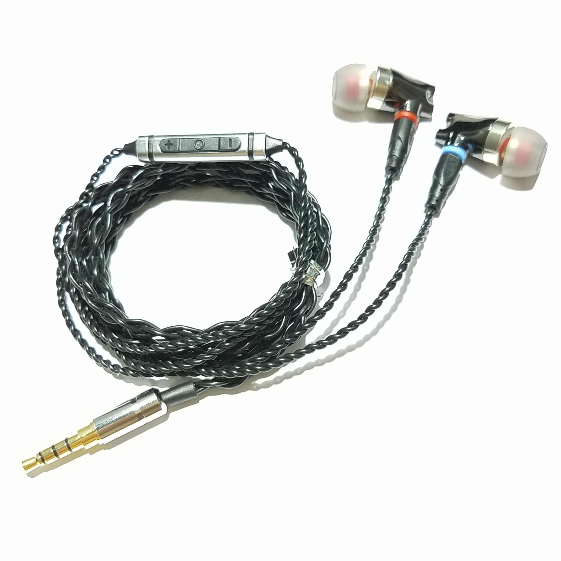 NEW technology 2019 Hi-Res Audio Hybrid earphone Balanced Armature Noise Cancellation for xiaomi samsung se535 se846 ie800 UE900