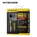 1 pc Original Inteligente Nitecore i2 Carregador de Bateria Universal para 16340 10440 AAA AA 14500 18650 26650 Bateria com Varejo caixa