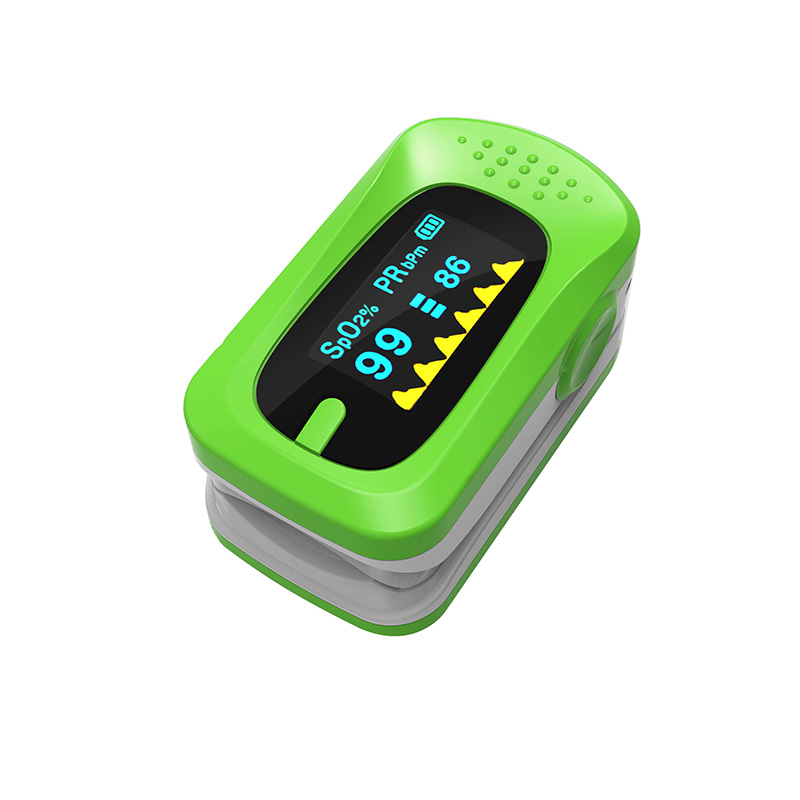 Portable Pulse Oximeter Pouch Setting Alarm Beep Fingertip SPO2 Pulse Rate Oxygen Monitor Medical Finger Pulse Saturation Meter (3)