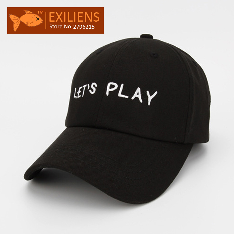 2017 New Fashion Brand Breathable LET PLAY Black Snapback Caps Strapback Baseball Cap Bboy Hip-hop Hats For Men Women Fitted Hat [exiliens] 2017 fashion brand baseball cap 100% cotton board snapback caps strapback bboy hip hop hats for men women fitted hat