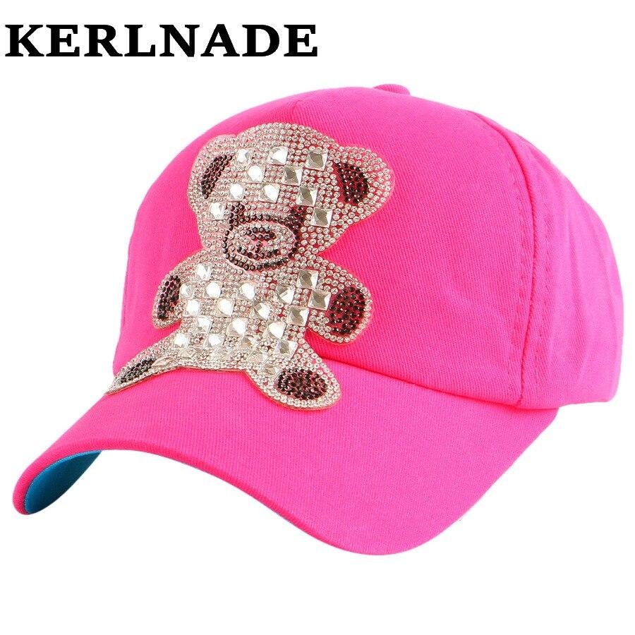 Nouveau mode mignon beauté enfants bébé casquette de baseball En Gros  strass coloré childs filles garçons d été snapback chapeau casquette 9d2b7e3a4181