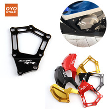 CNC Aluminum For BMW 09-15 S1000RR 2009 2010 2011-2015 Engine Guard Side Stator Case Cover Guard Protector Motorcycle Accessorie motorcycle cnc aluminum engine cover frame sliders bolts crash protector parts firt for bmw 2009 2010 s1000rr 2011 2012
