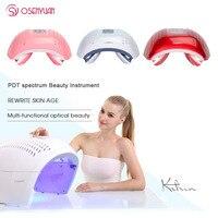 Светодиодный маска для лица фотон света энергии маска для лица фотон уход за кожей спа устройства терапии легкий уход за кожей лица Красота